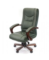 Купить недорого Кресло руководителя люкс - Кресло АРТУР • CH МВ зелёный в Украине