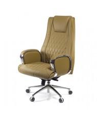 Купить недорого Кресло руководителя люкс - Кресло АРМИНГ • CH SR бежевый в Украине