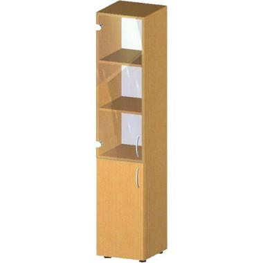 Купить Пенал-стеллаж с дверьми БЮ516 - цена и отзывы