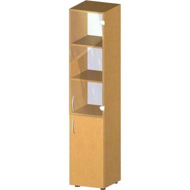 Купить Пенал-стеллаж с дверьми БЮ517 - цена и отзывы