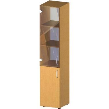 Купить Пенал-стеллаж с дверьми БЮ518 - цена и отзывы
