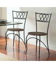 Купить недорого Кованые стулья - Кованый стул со спинкой мод. КСС5  в Украине