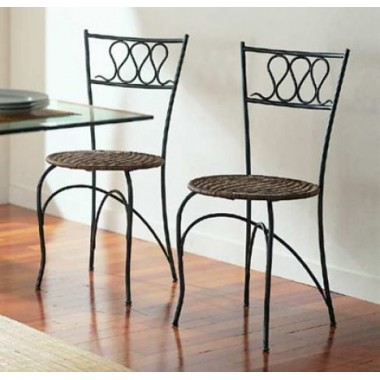 Купить Кованый стул со спинкой мод. КСС5  - цена и отзывы