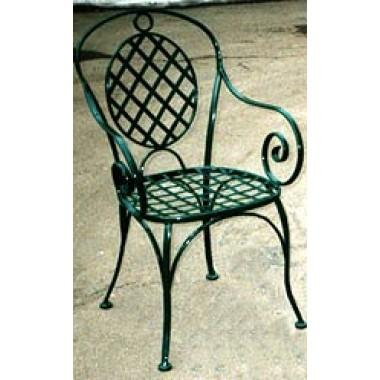 Купить Кованый стул со спинкой мод. КСС7 - цена и отзывы