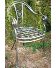 Купить недорого Кованые стулья - Кованый стул со спинкой мод. КСС8 в Украине
