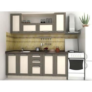 Купить Кухня Адель Венге (2000х600х2132) - цена и отзывы