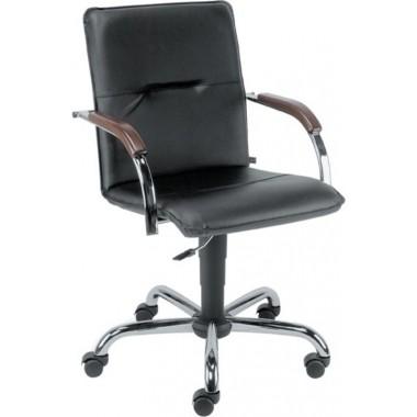 Купить Кресло Примтекс Плюс Samba GTP chrome wood 1.031 CZ-3  - цена и отзывы