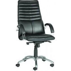 Кресло руководителя с хромом