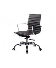 Купить недорого Кресло руководителя с хромом - КАП LB ЭКО в Украине