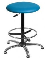 Купить недорого Офисные кресла и стулья - TABURET GTS+RING BASE CHROME в Украине
