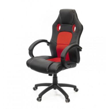 Купить Кресло Анхель • PL TILT чёрно-красный - цена и отзывы