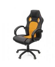 Купить недорого Геймерские кресла - Кресло Анхель • PL TILT чёрно-оранжевый в Украине