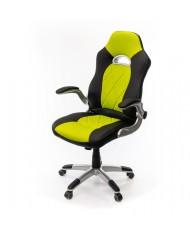 Купить недорого Геймерские кресла - Кресло Форсаж 8 • PL GTR TILT чёрно-салатовый в Украине