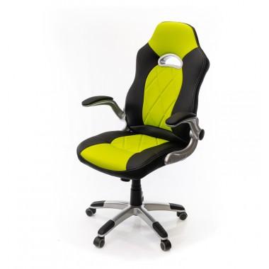 Купить Кресло Форсаж 8 • PL GTR TILT чёрно-салатовый - цена и отзывы