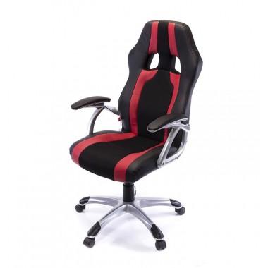 Купить Кресло Форсаж 9 • PL GTR TILT чёрно-красный - цена и отзывы