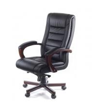 Купить недорого Кресло руководителя люкс - Кресло Гаспар • ЕХ МB чёрный в Украине
