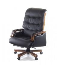 Купить недорого Кресло руководителя люкс - Кресло СФИНКС • EX RL чёрный в Украине