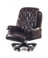 Купить недорого Кресло руководителя люкс - Кресло ЦЕЗАРЬ • EX RL дарк браун в Украине