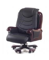 Купить недорого Кресло руководителя люкс - Кресло ФАРАОН • EX RL чёрный в Украине