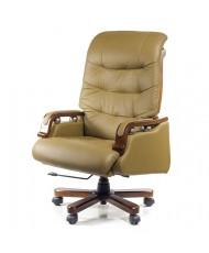Купить недорого Кресло руководителя люкс - Кресло Сфинкс • EX RL бежевый в Украине