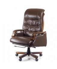 Купить недорого Кресло руководителя люкс - Кресло Сфинкс • EX RL коричневый в Украине