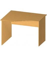 Купить недорого Бюджетные столы - Стол письменный криволинейный БЮ105 в Украине