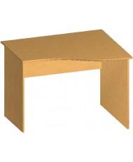 Купить недорого Бюджетные столы - Стол письменный криволинейный БЮ106 в Украине