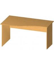 Купить недорого Бюджетные столы - Стол письменный криволинейный БЮ111 в Украине
