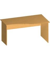 Купить недорого Бюджетные столы - Стол письменный криволинейный БЮ112 в Украине