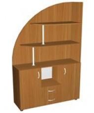 Купить недорого Шкафы - Шкаф-горка 1100х350 мм мод. П-16 в Украине