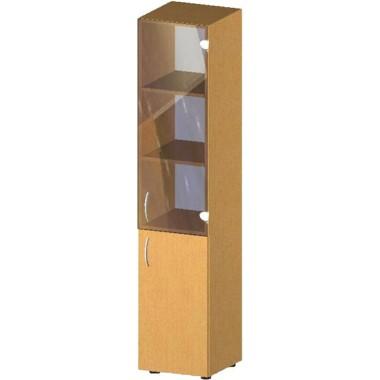 Купить Пенал-стеллаж с дверьми БЮ519 - цена и отзывы