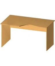 Купить недорого Бюджетные столы - Стол письменный криволинейный БЮ113 в Украине
