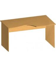 Купить недорого Бюджетные столы - Стол письменный криволинейный БЮ114 в Украине