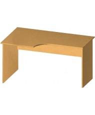 Купить недорого Бюджетные столы - Стол письменный криволинейный БЮ115 в Украине