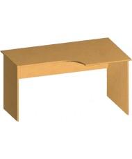 Купить недорого Бюджетные столы - Стол письменный криволинейный БЮ116 в Украине