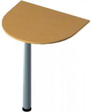 Купить недорого Приставные элементы - стол приставной БЮ 205 с опорой ФР601 в Украине