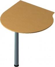 Купить недорого Приставные элементы - стол приставной БЮ 207 с опорой ФР601 в Украине