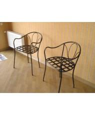 Купить недорого Кованые стулья - Кованый стул со спинкой мод. КСС6 в Украине