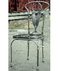 Купить недорого Кованые стулья - Кованый стул со спинкой мод. КСС9 в Украине