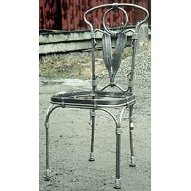 Купить Кованый стул со спинкой мод. КСС9 - цена и отзывы