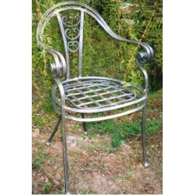 Купить Кованый стул со спинкой мод. КСС8 - цена и отзывы