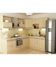 Купить недорого Кухня Адэль светлая - Кухня Адель (2400х1800х2132) в Украине