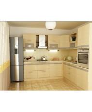 Купить недорого Кухня Адэль светлая - Кухня Адель (2400x2400x2132) в Украине