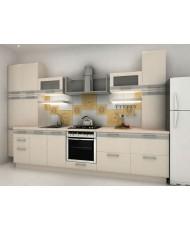 Купить недорого Кухня Адэль светлая - Кухня Адель (3800х600х2132) в Украине