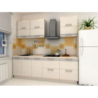 Купить Кухня Адель (2400х600х2132) - цена и отзывы