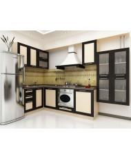 Купить недорого Кухня Адэль темная - Кухня Адель Венге (1400х3200х2132) в Украине