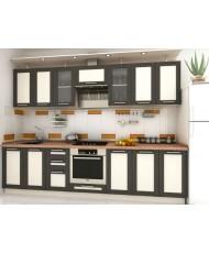 Купить недорого Кухня Адэль темная - Кухня Адель Венге (3000х600х2132) в Украине
