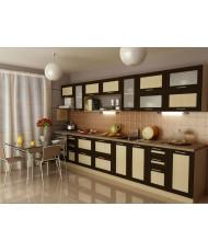 Купить недорого Кухня Адэль темная - Кухня Адель Венге (3800х600х2132) в Украине