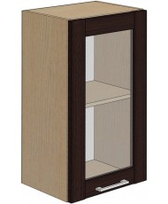Купить недорого Кухня Адэль темная - Модуль верхний Венге (МВ 40х71,8 л/п витрина) в Украине