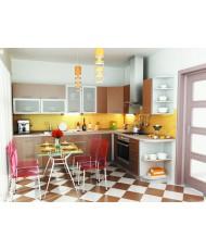 Купить недорого Кухня Капучино - Кухня Капучино (3200x1400х2132) в Украине